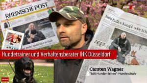 Mit Hunden leben - Hundeschule Düsseldorf beim WDR
