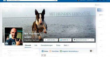 facebook - Mit Hunden leben
